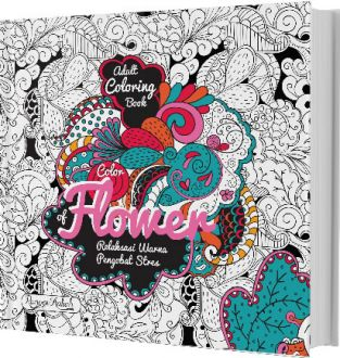Renebook Pattern Illusion World My Own 4 Series Coloring Book